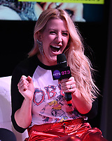 HOLLYWOOD, FL -  DECEMBER 05: Ellie Goulding during Hits Live at radio station Hits 97.3 on December 5, 2018 in Hollywood, Florida. <br /> CAP/MPI04<br /> &copy;MPI04/Capital Pictures