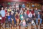 CHRISTENING DAY: Proud parents Niamh Begley and Sean Og Walsh, Tralee (seated centre) of little Keegan who was Christened by Fr Padraig Walsh at St Brendan's Church, Tralee and celebrated afterwards with family and friends at the Meadowlands hotel, Tralee on Saturday.