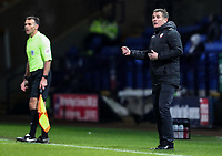 Bolton Wanderers' manager Phil Parkinson looks on <br /> <br /> Photographer Andrew Kearns/CameraSport<br /> <br /> The EFL Sky Bet Championship - Bolton Wanderers v Reading - Tuesday 29th January 2019 - University of Bolton Stadium - Bolton<br /> <br /> World Copyright © 2019 CameraSport. All rights reserved. 43 Linden Ave. Countesthorpe. Leicester. England. LE8 5PG - Tel: +44 (0) 116 277 4147 - admin@camerasport.com - www.camerasport.com