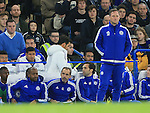 Chelsea's Cesc Fabregas gets substituted to a chorus of boos<br /> <br /> Barclays Premier League- Chelsea vs Sunderland - Stamford Bridge - England - 19th December 2015 - Picture David Klein/Sportimage