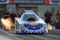 Jan. 16, 2013; Jupiter, FL, USA: NHRA funny car driver Chad Head during testing at the PRO Winter Warmup at Palm Beach International Raceway.  Mandatory Credit: Mark J. Rebilas-