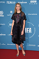 LONDON, UK. December 02, 2018: Tamsin Eggerton at the British Independent Film Awards 2018 at Old Billingsgate, London.<br /> Picture: Steve Vas/Featureflash