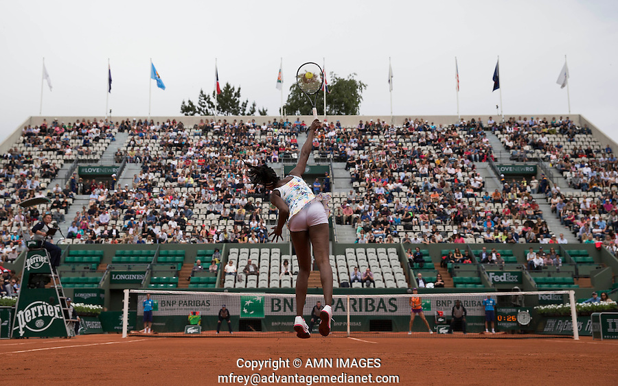 VENUS WILLIAMS (USA)<br /> <br /> Tennis - French Open 2014 -  Toland Garros - Paris -  ATP-WTA - ITF - 2014  - France -  25 May 2014. <br /> <br /> &copy; AMN IMAGES