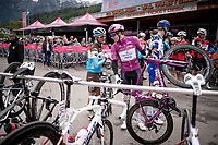 Maglia Ciclamino / points leader Arnaud Démare (FRA/Groupama-FDJ)<br /> <br /> Stage 17: Commezzadura (Val di Sole) to Anterselva/Antholz (181km)<br /> 102nd Giro d'Italia 2019<br /> <br /> ©kramon