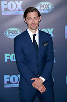 NEW YORK, NY - MAY 13: Tom Payne at the FOX 2019 Upfront at Wollman Rink in Central Park, New York City on May 13, 2019. <br /> CAP/MPI99<br /> &copy;MPI99/Capital Pictures