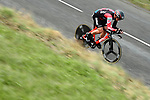 BMC Racing Team rider in action during Stage 4 of the Paris-Nice 2018 an 18km individual time trial running from La Fouillouse to Saint-Etienne, France. 7th March 2018.<br /> Picture: ASO/Alex Broadway | Cyclefile<br /> <br /> <br /> All photos usage must carry mandatory copyright credit (&copy; Cyclefile | ASO/Alex Broadway)