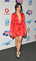 Camila Cabello at the Capital FM Summertime Ball 2018, Wembley Stadium, Wembley Park, London, England, UK, on Saturday 09 June 2018.<br /> CAP/CAN<br /> &copy;CAN/Capital Pictures