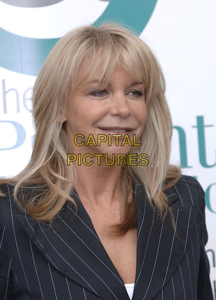 LESLIE ASH.Speaks at a Press Conference held about Hospital Bugs such as MRSA, Hilton Hotel, London, April 14th 2004..portrait headshot .Ref: PL.www.capitalpictures.com.sales@capitalpictures.com.©Phil Loftus/Capital Pictures