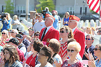 Monday, May 29, 2017, before the  Memorial Day 2017 Ceremony at Fayetteville National Cemetery.   The ceremony included traditional Color presentations, Rifle Volley, memorial wreath recognition and keynote speaker Governor Asa Hutchinson. <br /> <br /> NWA Democrat-Gazette/DAVID GOTTSCHALK