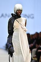 7 September 2017, Melbourne - Model parades design by RMIT student Solange Ting during the Melbourne Fashion Week in Melbourne, Australia. (Photo Sydney Low / asteriskimages.com)