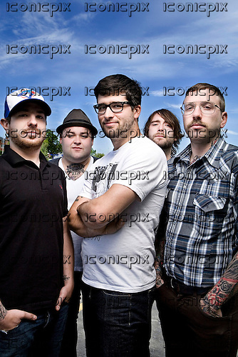 Alexisonfire exclusive portraits on St.Catharine's Island, Ontario, Canada - June 2, 2009.  Photo:© Ashley Maile / IconicPix