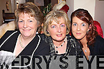 Listowel ladies smiling for the camera for women's christmas were Jean Lynch, Agnes McCarthy and Pauline Lynch..