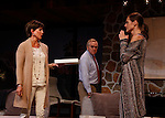 """As The World Turns' Colleen Zenk stars along with the cast - Malachy Cleary, Brenda Withers  in """"Other Desert Cities"""" at the tech rehearsal (in costume) on October 14, 2015 atr Whippoorwill Halll Thetre, North Castle Library, Kent Place, Armonk, New York.  (Photo by Sue Coflin/Max Photos)"""