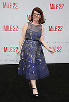 "9 August 2018-  Westwood, California - Kate Flannery. Premiere Of STX Films' ""Mile 22"" held at The Regency Village Theatre. Photo Credit: Faye Sadou/AdMedia"