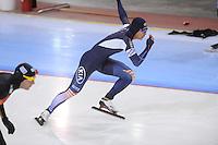 SCHAATSEN: SALT LAKE CITY: Utah Olympic Oval, 15-11-2013, Essent ISU World Cup, 500m, Jun-Ho Kim (KOR), ©foto Martin de Jong