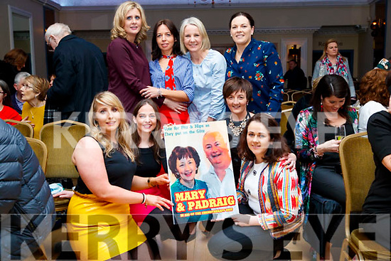 Pictured at Sickly Come Dancing, UHK, at Ballygarry House Hotel & Spa, Tralee on Friday night last were front l-r: Mairead O'Connor, Jacinta O'Dowd, Abbie Lynch and Sandra Murphy.  Back l-r: Oonagh Murnane, Theresa Walsh, Sinead Lenihan and Michelle Doolin.