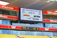 Sevens stadium preparation at Westpac Stadium in Wellington, New Zealand on Friday, 27 January 2017. Photo: Dave Lintott / lintottphoto.co.nz