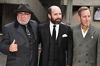 Ray Winstone, Michael Smiley &amp; Johnny Harris at the Jawbone UK film premiere at the BFI Southbank in London, UK. <br /> 08 May  2017<br /> Picture: Steve Vas/Featureflash/SilverHub 0208 004 5359 sales@silverhubmedia.com