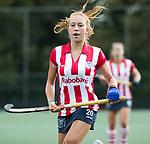 AMSTELVEEN - Pien van der Heide (HDM) .Hoofdklasse competitie dames, Hurley-HDM (2-0) . FOTO KOEN SUYK