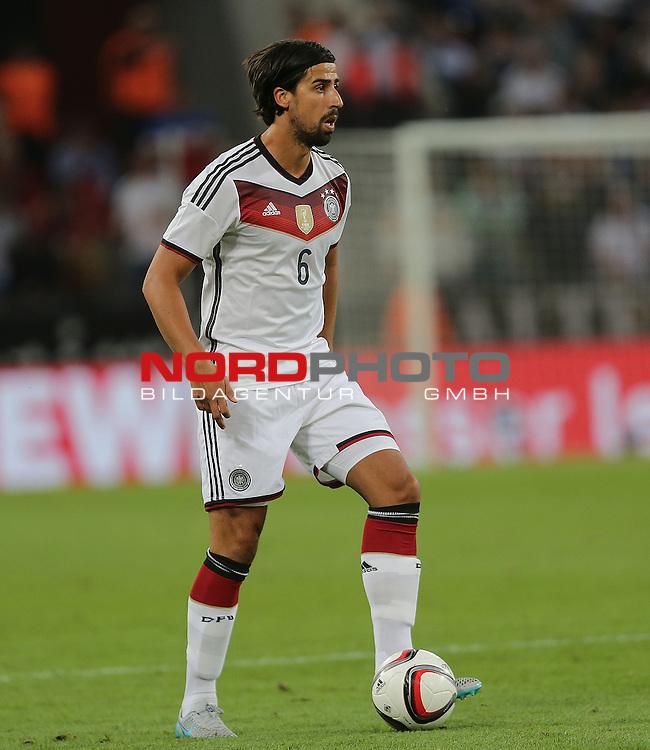 DFB Freundschaftsl&auml;nderspiel, Deutschland vs. USA<br /> Sami Khedira (Deutschland)<br /> <br /> Foto &copy; nordphoto /  Bratic