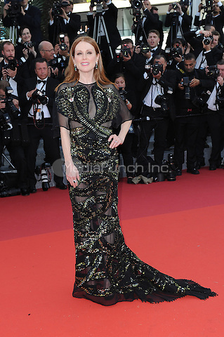 Julianne Moore at &quot;Cafe Society&quot; &amp; Opening Gala arrivals - The 69th Annual Cannes Film Festival, France on May 11, 2016.<br /> CAP/LAF<br /> &copy;Lafitte/Capital Pictures /MediaPunch ***NORTH AND SOUTH AMERICA SALES ONLY***