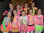 Members of the Bunamix dance group who took part in the Schools Dance Allstars finals at the TLT.  Photo:Colin Bell/pressphotos.ie