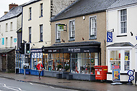 Noble and Grape and The Hair Business on the High Street, Cowbridge, Wales, UK. Friday 08 February 2019