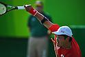 Shingo Kunieda (JPN),<br /> SEPTEMBER 12, 2016 - Wheelchair Tennis : <br /> Men's Singles Shingo Kunieda 2-0 Shunjiang Dong <br /> at Olympic Tennis Centre<br /> during the Rio 2016 Paralympic Games in Rio de Janeiro, Brazil.<br /> (Photo by AFLO SPORT)