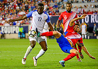 Harrison, N.J. - Friday September 01, 2017:   Jozy Altidore, Johnny Acosta during a 2017 FIFA World Cup Qualifying (WCQ) round match between the men's national teams of the United States (USA) and Costa Rica (CRC) at Red Bull Arena.