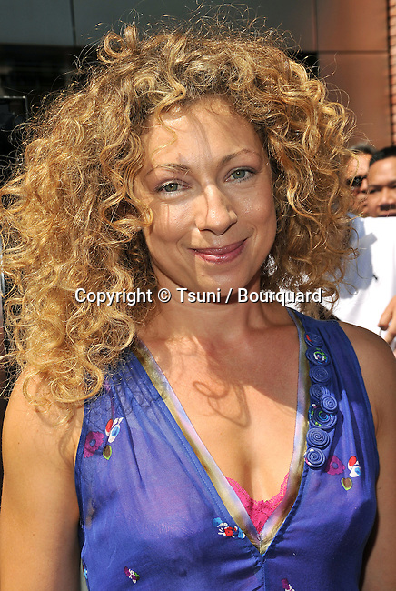 Alex Kingston    - <br /> Kitt Kittredge- An American Girl Premiere at the Grove Theatre In Los Angeles.<br /> <br /> headshot<br /> eye contact<br /> smile