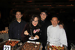 "One Life To Live Susan Batten ""Luna"" checks out the Legend Bar & Restaurant with Chef Ding Gen Wang showing off cold spicy beef, Sichuan cucumber with scallion oil, Kong Bao chicken, dry sauteed string beans at the 19th Annual Feast benefitting the Center for Hearing and Communication - Connect to Life on October 22, 2012 at Chelsea Pier 60, New York City, New York.  (Photo by Sue Coflin/Max Photos)"