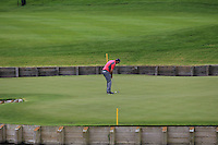 Padraig Harrington (IRL) on the 15th green during Round 2 of the 100th Open de France, played at Le Golf National, Guyancourt, Paris, France. 01/07/2016. <br /> Picture: Thos Caffrey | Golffile<br /> <br /> All photos usage must carry mandatory copyright credit   (&copy; Golffile | Thos Caffrey)