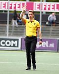AMSTELVEEN  - Jonas van 't Hek.  Hoofdklasse hockey dames ,competitie, heren, Amsterdam-Pinoke (3-2)  . COPYRIGHT KOEN SUYK