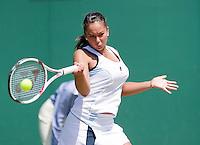 28-6-08, England, Wimbledon, Tennis,  Lesley Kerkhove