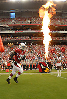 Aug 18, 2007; Glendale, AZ, USA; Arizona Cardinals running back Edgerrin James (32) against the Houston Texans at University of Phoenix Stadium. Mandatory Credit: Mark J. Rebilas-US PRESSWIRE Copyright © 2007 Mark J. Rebilas