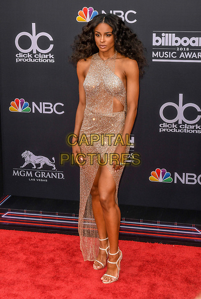 LAS VEGAS, NV - MAY 20: Ciara at the 2018 Billboard Music Awards at the MGM Grand Garden Arena in Las Vegas, Nevada on May 20, 2018. <br /> CAP/MPI/DAM<br /> &copy;DAM/MPI/Capital Pictures