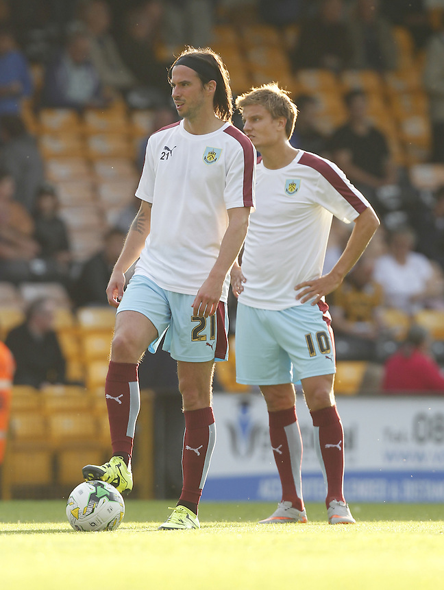 Burnley's George Boyd<br />