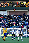 Notts County 0 Mansfield Town 0, 14/01/2017. Meadow Lane, League Two. Reflections in the executive boxes. Photo by Paul Thompson.