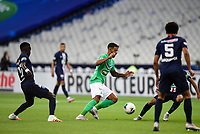 24th July 2020, Stade de France, Paris, France; French football Cup Final, Paris Saint Germain versus  St Ertienne;  Denis Bouanga ( 20 - Saint Etienne )