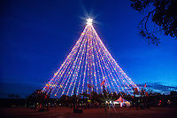 The Zilker Holiday Tree is Austin's family fun favorite activity during the Christmas holiday season.
