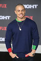 WESTWOOD, CA - DECEMBER 13: Casper Smart, at Premiere Of Netflix's 'Bright' at The Regency Village Theatre, In Hollywood, California on December 13, 2017. Credit: Faye Sadou/MediaPunch /NortePhoto.com NORTEPHOTOMEXICO