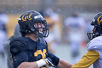 BERKELEY, CA - Saturday, April 8, 2017:  Cal Bears Football Spring Practice.