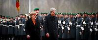 Bundeskanzlerin Angela Merkel (CDU) empf&auml;ngt am Mittwoch (18.01.17) in Berlin den italienischen Ministerpr&auml;sidenten Paolo Gentiloni.<br /> Foto: Axel Schmidt/CommonLens