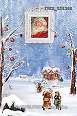 Isabella, CHRISTMAS LANDSCAPE, paintings+++++,ITKE528346,#XL#
