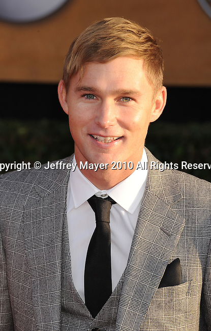 LOS ANGELES, CA. - January 23: Brian Geraghty arrives at the 16th Annual Screen Actors Guild Awards held at The Shrine Auditorium on January 23, 2010 in Los Angeles, California.