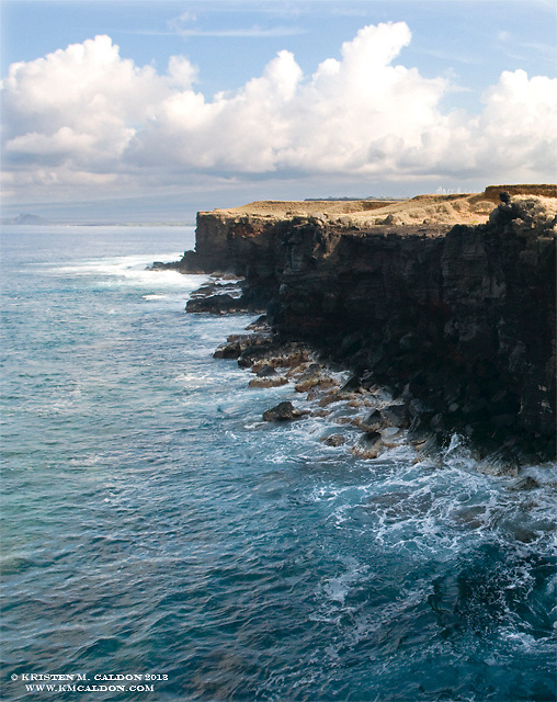 South Point of the Big Island.<br />
