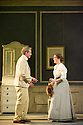 Scottish Opera presents THE LADY FROM THE SEA in its world premiere at the King's Theatre, as part of the Edinburgh International Festival. Based on Ibsen's play, film composer Craig Armstrong has teamed up with author Zoe Strachan to create this work in Scottish Opera's 50th aniversary year. Picture shows: Stephen Loges (as Arnholm) and Sarah Shorter (as Boletta).