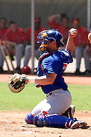 Josh Donaldson - AZL Cubs..Photo by:  Bill Mitchell/Four Seam Images