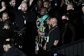 24th March 2018, O2 Arena, London, England; Matchroom Boxing, WBC Silver Heavyweight Title, Dillian Whyte versus Lucas Browne; Dillian Whyte during his walk in through the crowd gathered and the O2 arena
