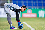 Muangthong Goalkeeper Kawin Thamsatchanan in action during the AFC Champions League 2017 Group E match between  Ulsan Hyundai FC (KOR) vs Muangthong United (THA) at the Ulsan Munsu Football Stadium on 14 March 2017 in Ulsan, South Korea. Photo by Chung Yan Man / Power Sport Images